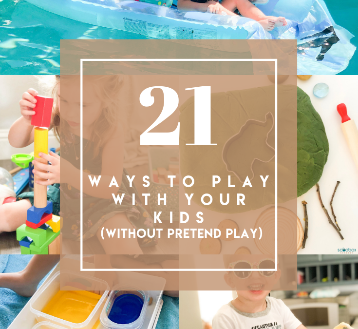 21 Play Ideas with Toddlers and Preschoolers