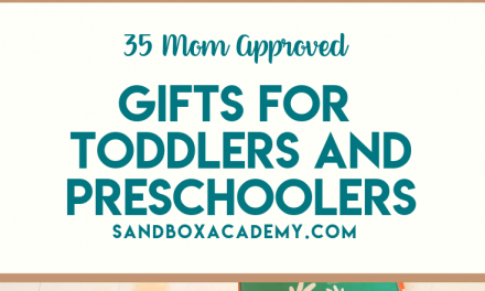 Gift Ideas For Toddlers and Preschoolers 2018