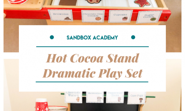 Hot Cocoa Dramatic Play Printable Set