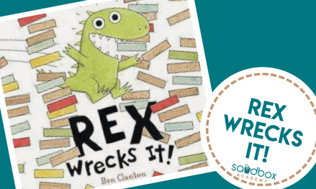 Rex Wrecks It! Dinosaur Focus Book