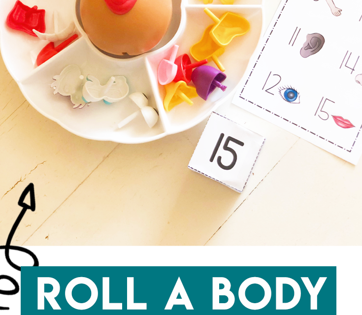 Roll a Body – Number Identification