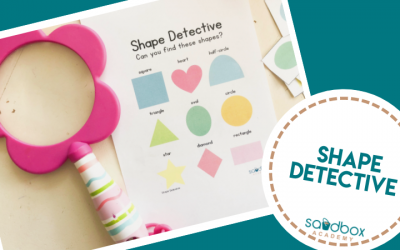 Shape Hunt Activity for Preschoolers – Shape Detective