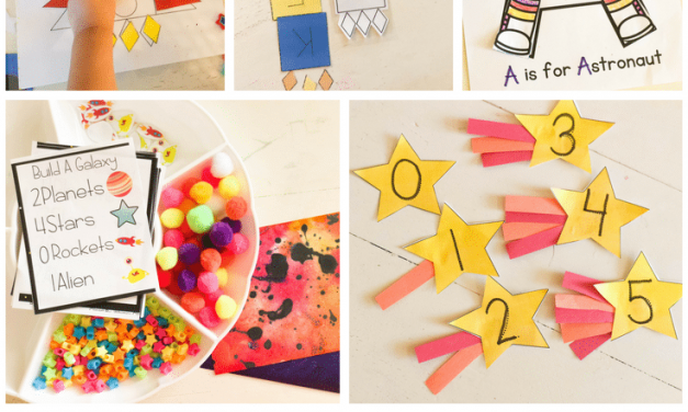 Space Preschool Activities – Calendar & Supplies