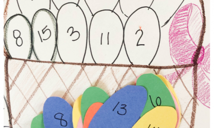 Easter Activity – Number Recognition