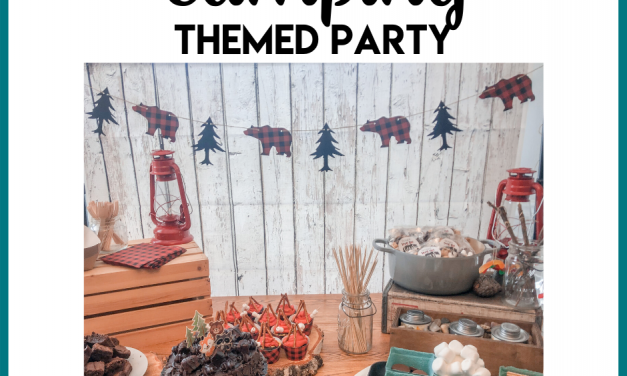 Camping Birthday Party Theme
